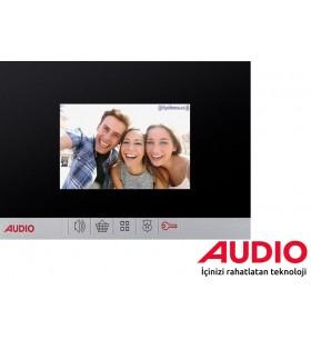 Audio 001181 4.3 inç Siyah Bus Plus Görüntülü Diafon