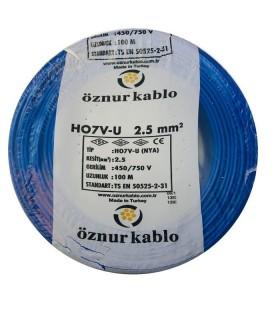 Öznur 2,5 mm NYA Kablo - 100 Metre